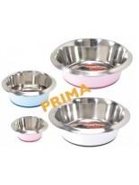 Camon - Купа PRIMA - Купа за домашни любимци от високо качествена стомана, дъно покрито с нехлъзгаща се гума - 0.440 л.