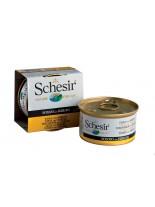 Schesir Agras Delic Schesir Nature Surimi Tuna with the taste of crab - Високо качествена и неустоима храна за котки - сурими с риба тон и раци в желе - 85 гр.