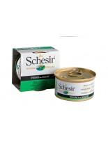 Schesir Agras Delic Schesir Nature Tuna with Seaweed - Високо качествена и неустоима храна за котки - с риба тон и морска трева - 85 гр.