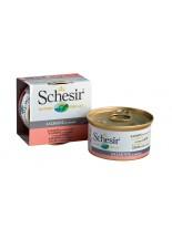 Schesir Agras Delic Schesir Nature Natural Salmon - Високо качествена и неустоима храна за котки - със сьомга в собствен сос - 85 гр.