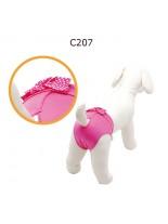"CAMON - Бански за куче - размер ""3"" - розови"