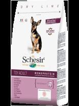 Schesir Toy Adult Maintenance with Chicken - пълноценна храна за кученца от мини породите над 12 месеца с пилешко месо - 0.800 кг.