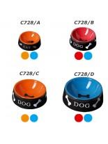 Camon - Купа Black Color за домашни любимци - 0.500 л. - синя, оранжева
