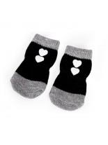 CAMON - Чорапи за кучета - размер S, M, L или XL - черни