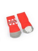 CAMON - Чорапи за кучета - размер XL или XXL - червени