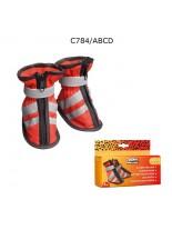 CAMON - Обувки за куче - 4 бр. - 6,5 см.