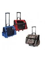 Camon - Текстилна чанта MAX RED за домашни любимци на колела- 43х26х36 см.
