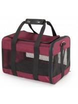 Camon - Текстилна чанта BURGUNDY за домашни любимци - 41x29x29 см.