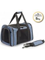 Camon - Denim - Транспортна чанта за домашни любимци - 42x25x25 см. - синя