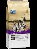 Carocroc Large Breed 27/16  Adult – Super Premium суха храна за ежедневно хранене на  кучета от едрите породи (над 30 кг.) над 1 година с пиле и ориз - 15 кг.