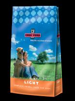 CASA FERA - Light - Суха храна за израстнали, кучета от всички породи склонни към напълняване с пиле, ориз и цвекло - 12.5 кг.