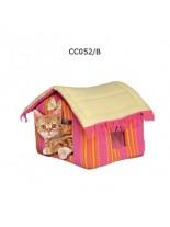 Camon Cotton House - мека розова къщичка, 45x35x35h см