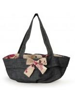 Camon - Текстилна чанта Borsa за домашни любимци - 40х30х19 см. - трансформираща се