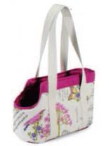 Camon - Текстилна чанта PRIMAVERA за домашни любимци - 42х20х25 см.