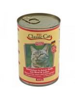 Classic Cat Sauce Beef & Liver - консерва за котка с говеждо и дроб - 415 гр.