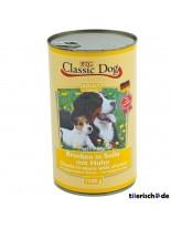 Classic Dog Can Hahn - Консерва на хапки в сос за куче с piлешко - 1240 гр.