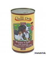 Classic Dog Can lamb - Консерва на хапки в сос за куче с агнешко - 1240 гр.