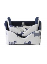 Camon - Легло DOG BLUE за домашни любимци - 60x45x36 см.