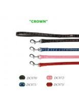 Camon - Повод кожен - черен, син, розов, червен - 15/1200 mm.