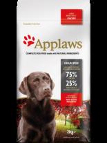 Applaws Adult Large Breeds Chicken - пълноценна храна за подрастващи кучета над 18 месеца от големите и гигантски породи с пилешко - 2 кг.