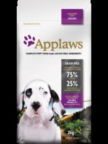 Applaws Puppy Large Breeds Chicken - пълноценна храна за подрастващи кучета от 1 до 18 месеца от големи и гигантски породи с пилешко месо - 2 кг.