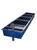 FIAP - profibreed Trough 4-part - люпилна вана за хайвер - 2.220 x 0.475 x 0.175 м. за 4 люпилни касети (цената е без включени люпилни касети)