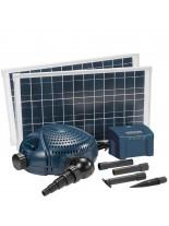 FIAP - Aqua Active Solar 3.000 - Мощна и безотказна езерна, фонтанна помпа със захранвана чрез соларни батерии - дебит до 3000 л/ч.