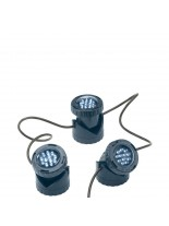 FIAP Light Active SET - Комплект подводно езерно LED осветление - 3 прожектора с 12 бели - сини светодиода