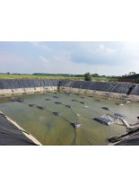 Високо качествена хидроизолация с Firestone EPDM Мембрана на езера и хвостохранилища с дългогодишна гаранция