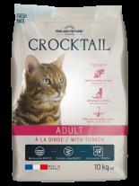 Flatazor Crocktail ADULT with Turkey - Пълноценна храна за пораснали котки С ПУЙКА - 10 кг.