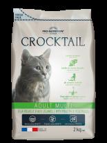 Flatazor Crocktail ADULT MULTI - Poultry & Vegetables - Пълноценна храна за пораснали котки, предпочитащи комбинация от вкусове С МЕСО ОТ ДОМАШНИ ПТИЦИ И ЗЕЛЕНЧУЦИ - 2 кг.