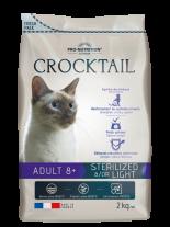Flatazor Crocktail ADULT 8+ STERILIZED &/OR LIGHT Пълноценна храна за кастрирани котки над 8 години - 2 кг.