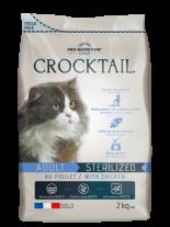 Flatazor Crocktail ADULT STERILIZED with chicken Пълноценна храна за кастрирани котки С ПИЛЕШКО - 2 кг.