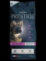 Flatazor PRESTIGE Junior Maxi - Flatazor Prestige Junior Maxi - пълноценна храна за кучета едри и гигантски породи от 2 до 18 месеца  с пилешко, патешко и свинско месо - 3 кг.