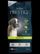 Flatazor Prestige Puppy - Пълноценна храна за подрастващи кучета до 1 година от всички породи, както и за женски кучета от всички породи в края на бременността или в периода на кърмене - 12 кг.