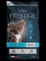 Flatazor Prestige ADULT MINI LIGHT &/OR STERILIZED - Пълноценна храна за кучета от дребни породи над 1 година със склонност към напълняване и/или кастрирани кучета - 3 кг.