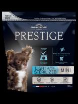 Flatazor Prestige ADULT MINI LIGHT &/OR STERILIZED - Пълноценна храна за кучета от дребни породи над 1 година със склонност към напълняване и/или кастрирани кучета - 1 кг.