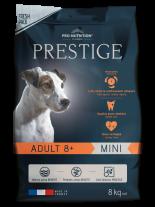 Flatazor Prestige ADULT 8+ MINI - Пълноценна храна за кучета от дребни породи на възраст над 8 години - 8 кг.