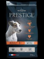 Flatazor Prestige ADULT 8+ MINI - Пълноценна храна за кучета от дребни породи на възраст над 8 години - 3 кг.