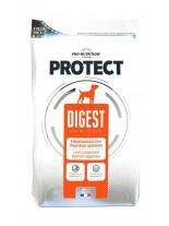 Flatazor Pro-Nutrition Protect Digest - Пълноценна, високо протеинна (73%), диетична храна за кучета с храносмилателни проблеми и за защита на черния дроб над 1 година с пилешко, пуешко и патешко месо - 2 кг.