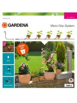 Gardena Start Set Flower pots S - стартов комплект за напояване на 5 бр. саксии