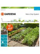 Gardena Start Set Planted Areas - стартов комплект за напояване на цветни и зеленчукови лехи