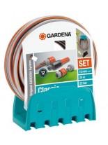 GARDENA Комплект стенен държач с маркуч и конектори