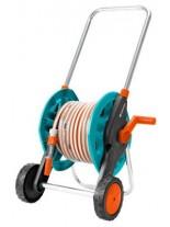 GARDENA Hose Trolley Set - Метална количка за маркуч с пластмасова макара