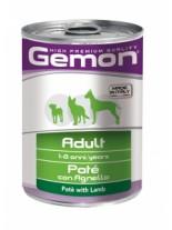 Monge Gemon Paté with Lamb – Adult - консерва за кучета над 1 година с агнешко месо - пастет - 0.400 кг.