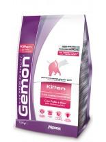 Monge Gemon Kitten with Chicken and Rice - Високо качествена храна за котки от 1 до 12 месеца с пилешко месо - 20 кг.