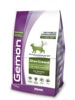 Monge Gemon Sterilized with Turkey - Високо качествена храна за кастрирани котки над 12 месеца с пуешко месо - 20 кг.