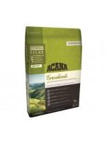 Acana Grain free Grasslands - високо качествена, гранулирана, суха храна за кучета над 1 година с агнешко и риба - 11.4 кг.