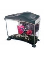 Hagen Marina Betta - Компактен аквариум за Бета и други дребни рибки - 6.7 л. - черен или бял