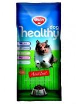 Visan Healthy Dog Adult Beef - суха храна за израснали кучета с телешко месо и пчелно млечице - 15 кг.